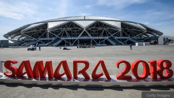 El estadio de Samara albergará el partido. | Fotografía: Getty Images