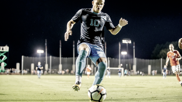 Zach Wright was the club's seventh homegrown signing. | Photo: GoHeels.com