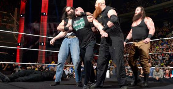 The lesnar - wyatt feud was supposed to be billed a major storyline but has been put on the backburners (image: independent.co.uk)