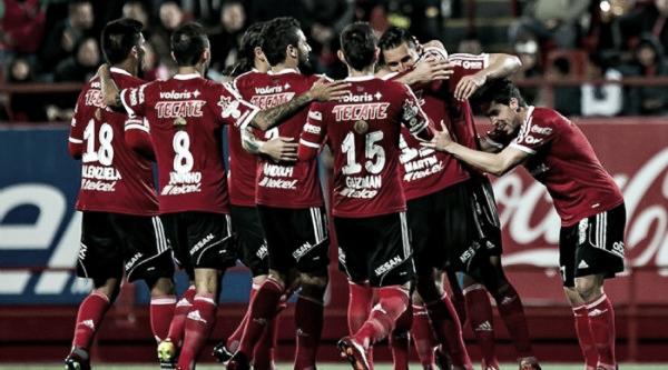 Xolos celebrando un gol en Copa Mx | Foto: Pasión deportivabc