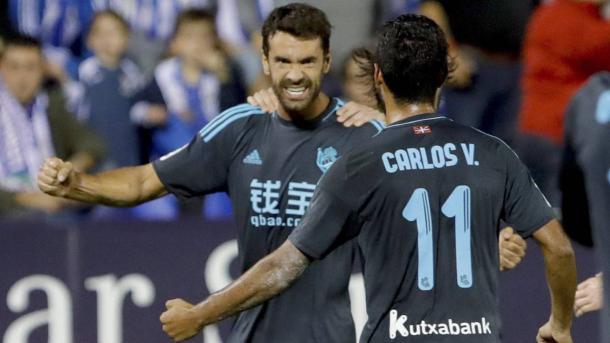 En las últimas temporadas Xabi Prieto goza de un momento de forma espectacular. Fotografía: Diario AS.