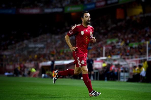 Xavi dejaba la selección tras el último Mundial. // Foto: Getty Images
