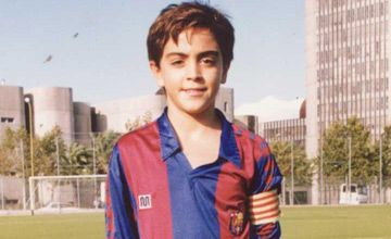 Xavi at La Masia | Photo: FC Barcelona