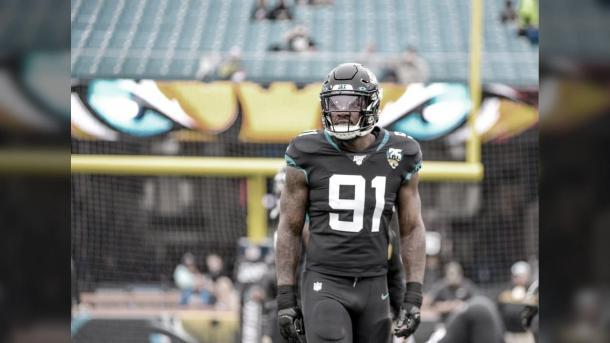 Yannick Ngakoue no seguirá en la franquicia del estado de Florida (foto Jaguars.com)