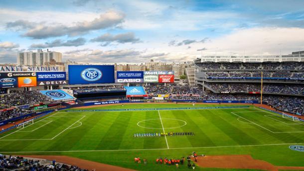 El histórico Yankee Stadium acoge al NYCFC (lovingnewyork.it)
