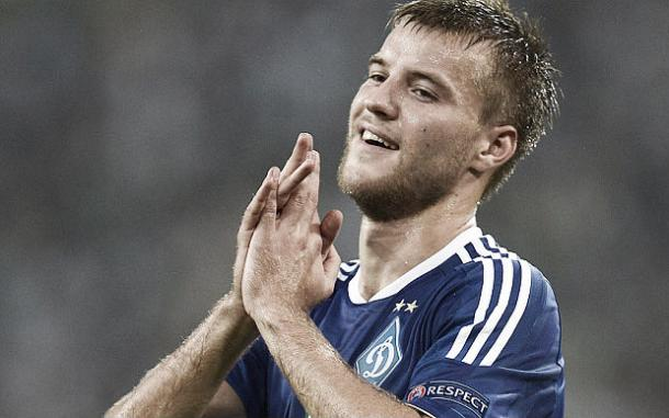 Yarmolenko could finally be on his way to Merseyside (image:telegraph.co.uk)