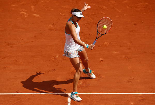 Yaroslava Shvedova in action | Photo: Adam Pretty/Getty Images Europe