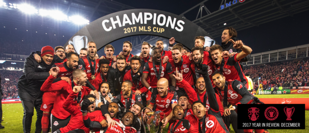 Toronto celebra el título. // Imagen: Toronto FC