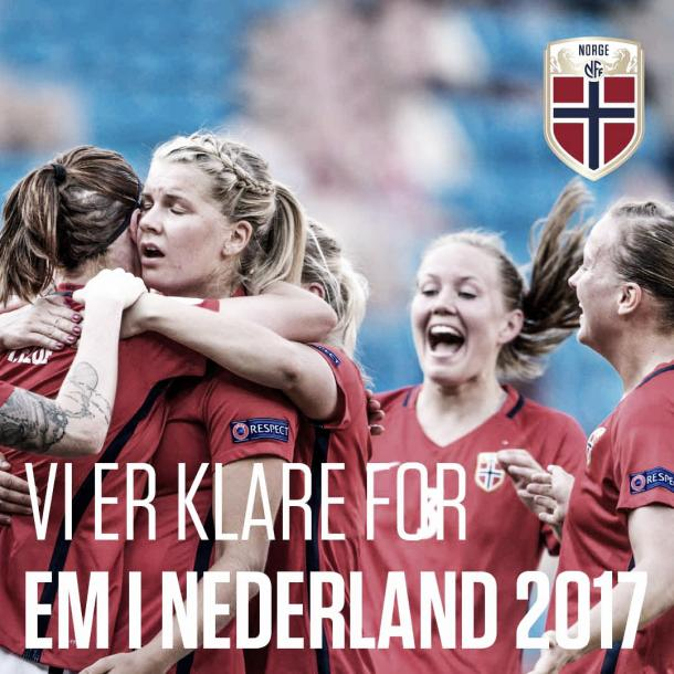 See you in the Netherlands, Norway! l Photo: fotball.no