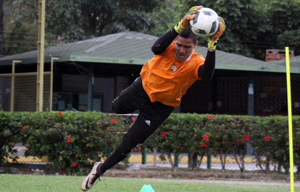 Yustiz se aferró al arco aragueño / Foto: Aragua FC