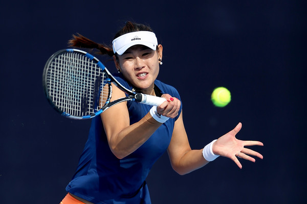 Duan Yingying in action at the 2017 China Open | Photo: Emmanuel Wong/Getty Images AsiaPac