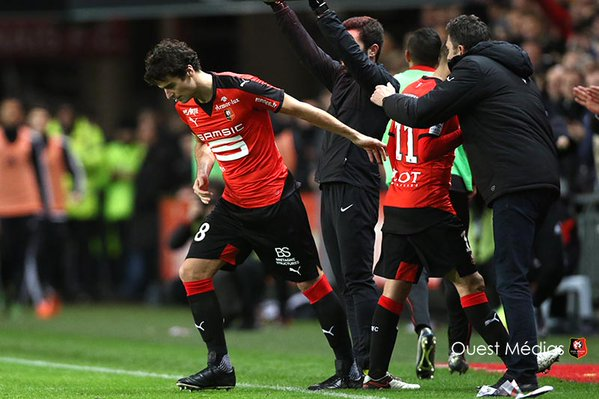 Yoann Gourcuff makes Rennes debut | Photo: ouestmedias