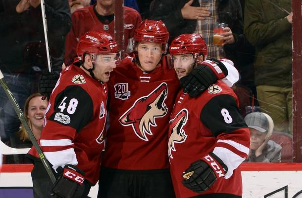 The hapless Arizona Coyotes are almost as bad as the Colorado Avalanche last season. (Photo: Puck Prose)