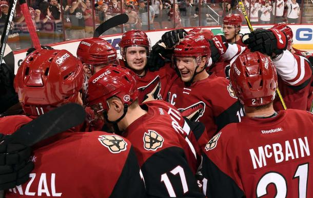 A win will change attitudes, inflate confidences and boost team morale. (Photo by Norm Hall/NHLI via Getty Images)