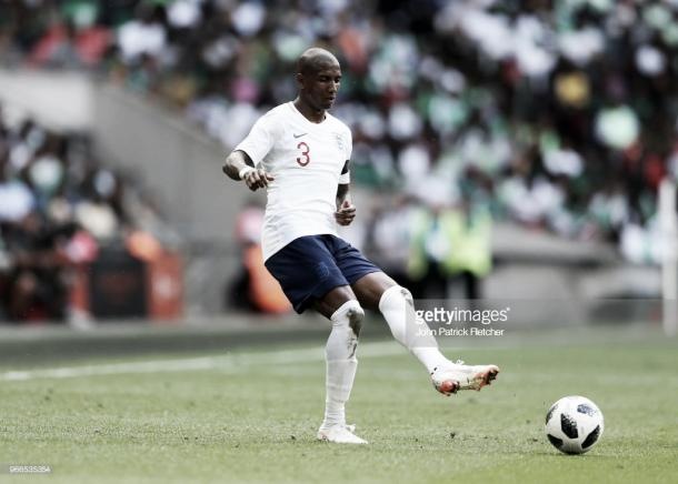 Ashley Young is at the World Cup with England (Photo: John Patrick Fletcher / Getty Images)