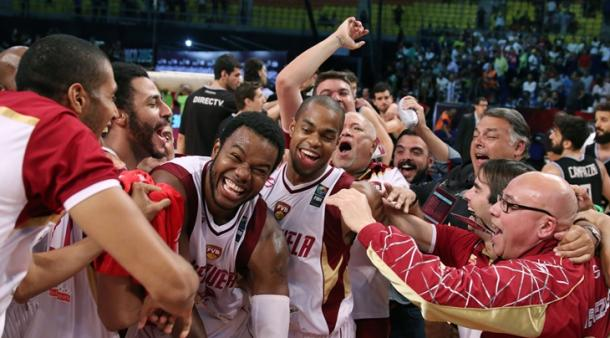 2015 FIBA Americas champion Venezuela. Photo: Fiba.com