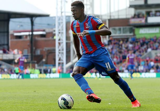 Zaha has 7 goals in all competitions for Palace this season | Photo: PremierLeague.com