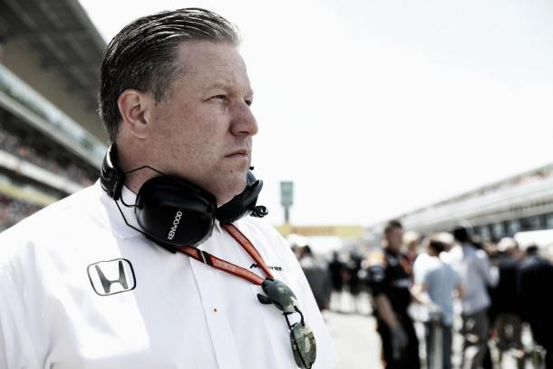 Zak Brown, CEO de McLaren | Getty Images