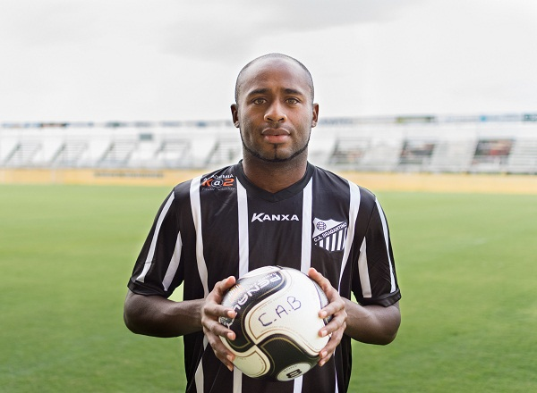 Zambi, ex-Veranópolis, reforça o Braga (Foto: Rafael Moreira/CA Bragantino)