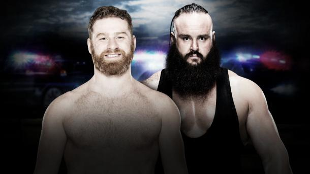 Can Zayn overcome the monster? Photo- WWE.com