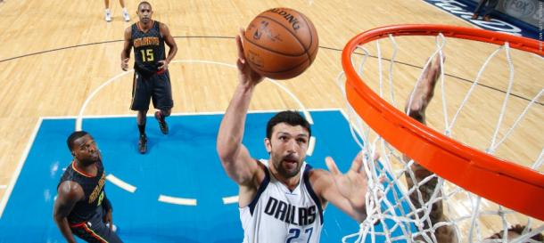 Zaza still going strong to the hoop at age 32. Photo: NBA.com