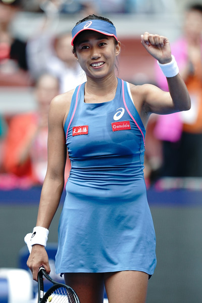 Zhang Shuai found her form in China once again | Photo: Lintao Zhang/Getty Images AsiaPac