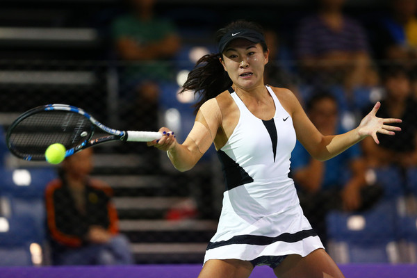 Zhu Lin had a bad day at the office today | Photo: Clive Brunskill/Getty Images AsiaPac