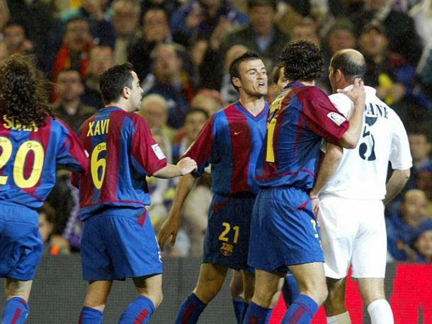 Zidane e Luis Enrique - Foto: foxsports.com