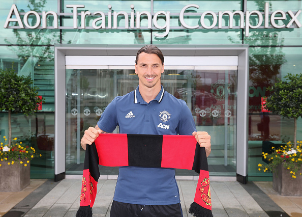 Ibrahimovic scored more goals last season than the whole of the United squad managed in the Premier League | Photo: Getty Images via John Peters