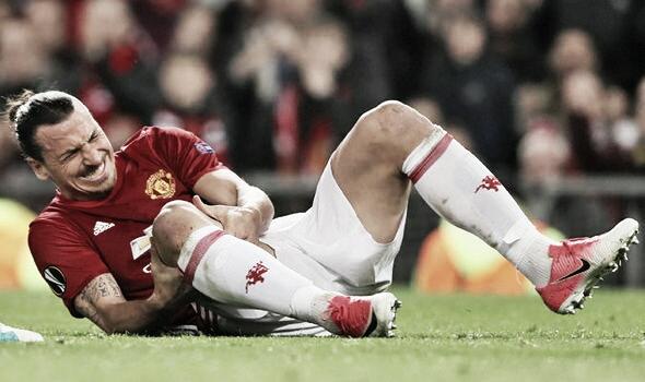 La lesión de Zlatan Ibrahimovic fue un antes y un después en la temporada   Foto: UEFA