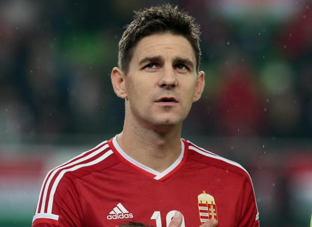 Zoltan Gera in Hungary colours.