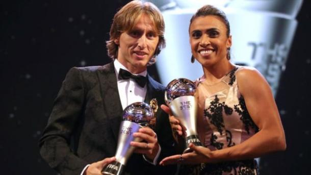 Los ganadores del The Best 2018  Foto: BBC