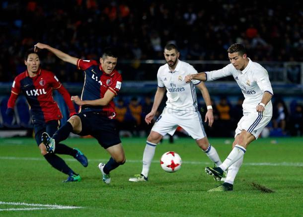 Gol de Cristiano Ronaldo   Foto: Real Madrid