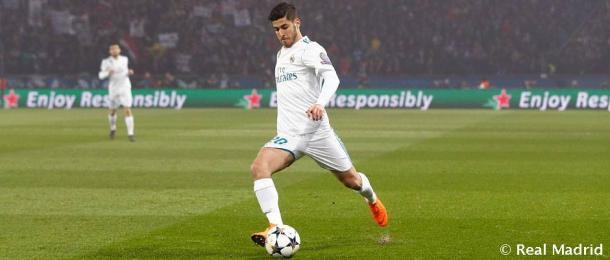 Marco Asensio en la temporada 2018/2019 |Fuente: Real Madrid CF