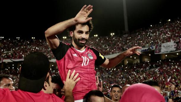 Salah, el dios egipcio | Foto: MundoDeportivo.