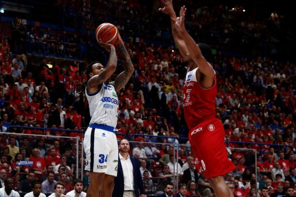 Moos David EA7 Emporio Armani Milano - Germani Basket Brescia Legabasket serieA 2017/2018  Playoff Semifinale gara 1 Milano 24/05/2018 Foto Ciamillo-Castoria