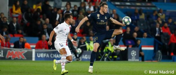 Juan Bernat y Bale | Foto: Real Madrid