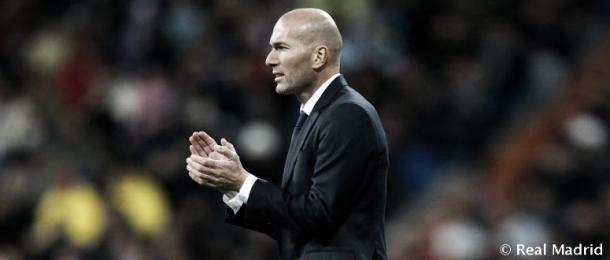 Zinedine Zidane, entrenador del Real Madrid | Foto: Real Madrid C.F.