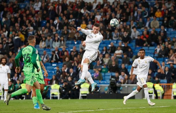 Gol de Jovic al Lega. Real Madrid
