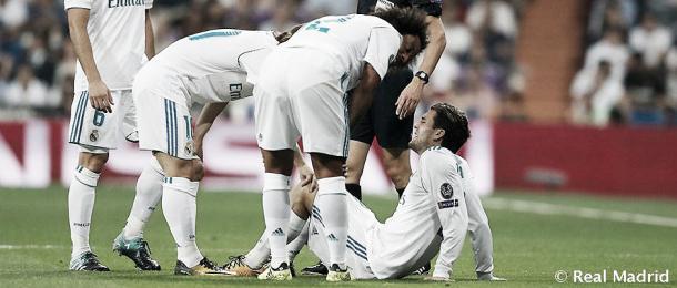 Kovacic ya sabía que lo suyo era grave   Foto: Real Madrid CF