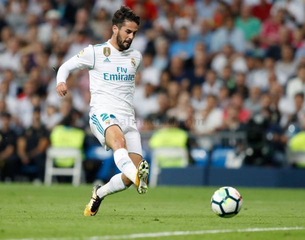 Primer gol de Isco | Foto: Real Madrid