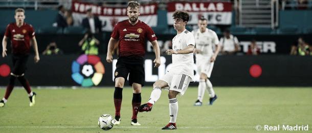 El debut de Odriozola con la camiseta blanca   Foto: Real Madrid C.F.
