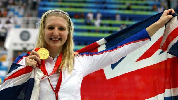 Adlington won double-gold in Beijing. | Photo: BBC