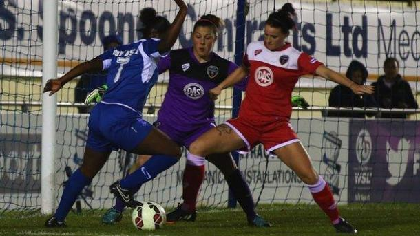 Ayisi has shown glimpses of her talent since signing for Birmingham. | Photo: BBC Sport