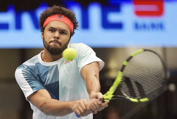 Jo-Wilfried Tsonga during Vienna last year, where he came runner-up to Andy Murray (Photo: Hans Punz/Getty Images)