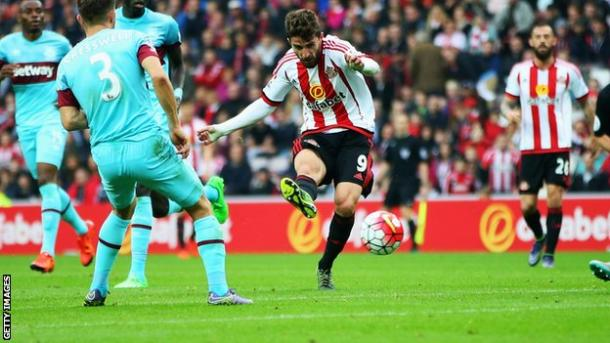 Fabio Borini missed a sitter in the reverse, and the result could have been different if he hadn't. | Photo: Getty