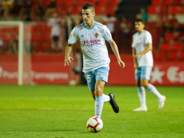 Primera equipación. FOTO: Real Zaragoza