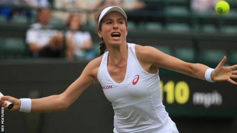 Konta is yet to reach the third round | photo: BBC