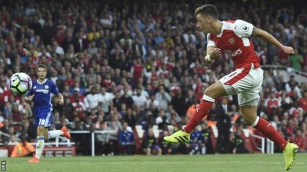 Özil protagonista del encuentro   Foto: BBC