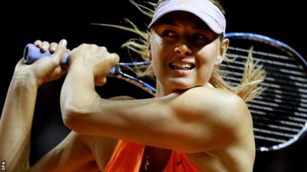 Maria Sharapova. Fonte: EPA